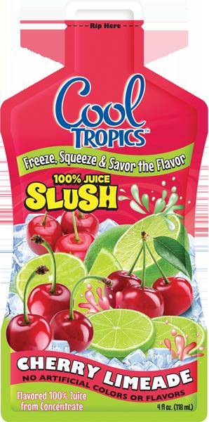 cool red slush