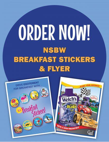 National School Breakfast Week Promo