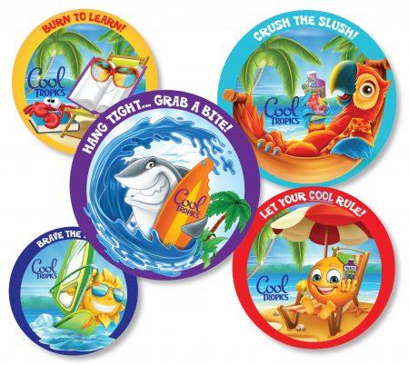 Surfin' Stickers